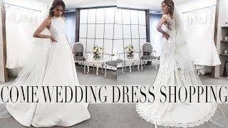COME WEDDING DRESSS SHOPPING PART 2 | Lydia Elise Millen