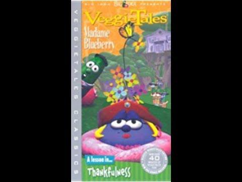 veggie-tales-madame-blueberry-vhs