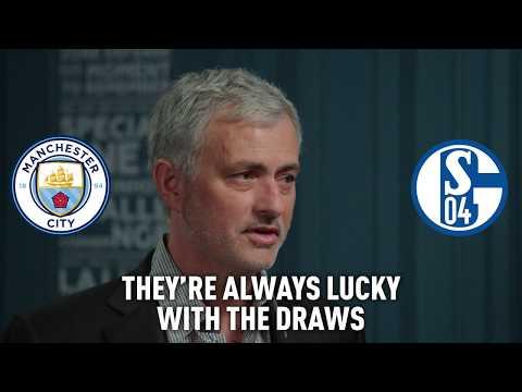 On The Touchline: Jose Mourinho backs Man City to ease past Schalke into UCL quarterfinals
