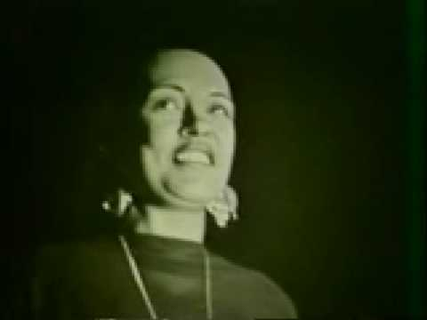 Billie Holiday singing I Only Have Eyes For You (1958)