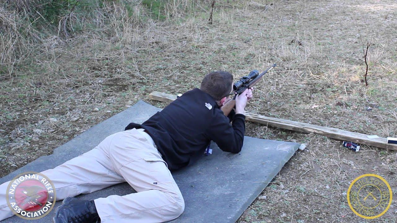 NRA Basic Rifle  Prone Position  YouTube