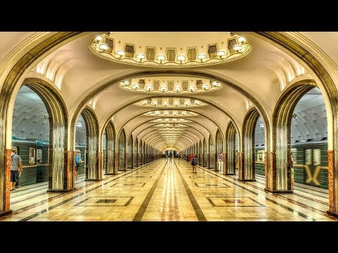 The Top 7 Most Beautiful Moscow's Metro Stations