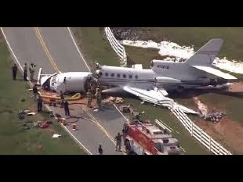 News today: Two dead in South Carolina private jet crash