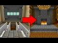 TRANSFORMING ROOM in Minecraft Pocket Edition (INSANE REDSTONE BASE CREATION)