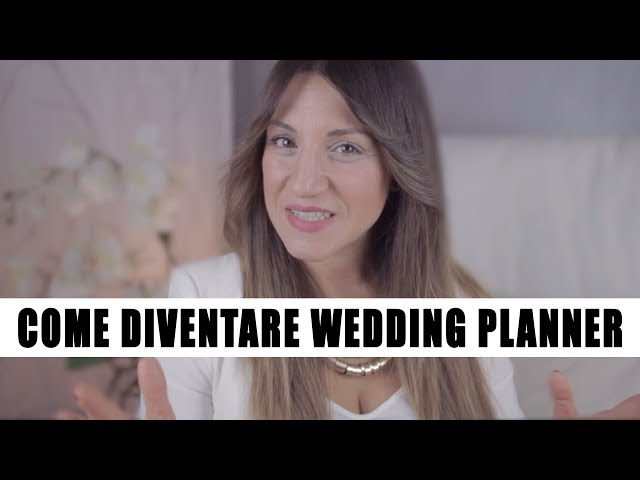 TUTTOSULWEDDING #1 | Come diventare Wedding Planner