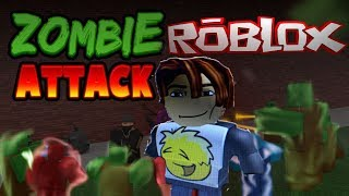 Zombie ATTACK ROBLOX (Gaming With Zayy)