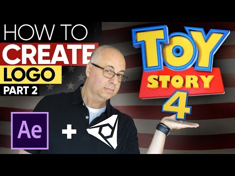 TUTORIAL: How To Create Toy Story 4 Logo