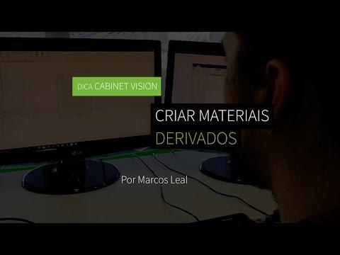Dica 15 CABINET VISION - Criar Materiais Derivados e a sua Utilização na Otimização