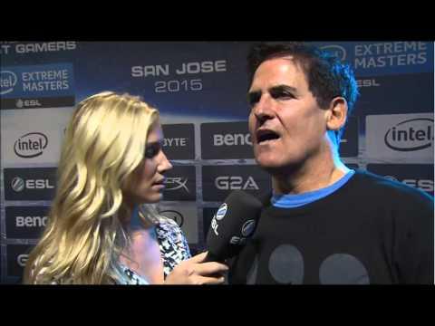 Mark cuban on league of legends -IEM San Jose - Interview
