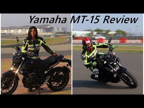 Yamaha MT-15 Review | Streetfighter R15 on a racetrack
