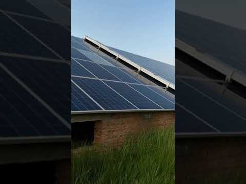 (Multifit solar ) solar panel cleaning robot (Dry cleaning)for solar power system plant