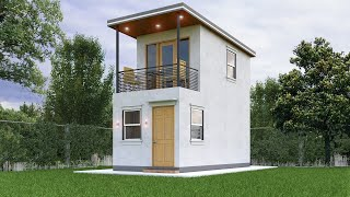 Tiny House Design (3x6 Meter)