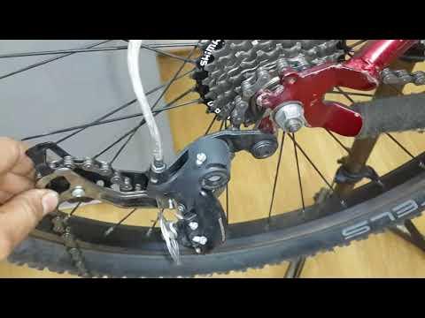 Замена велосипедной цепи