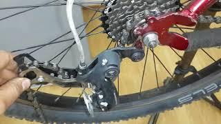 как сделать цепь на велосипеде скоростном