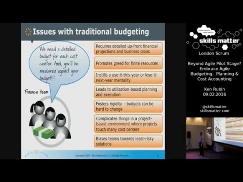 (Low Audio) London Scrum User Group 2016 - Embrace Agile Budgeting, Planning, and Accounting