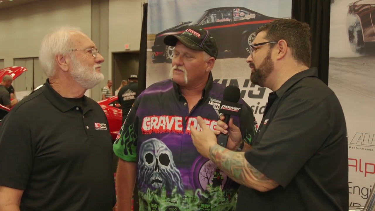SEMA 2017: King HP Bearings Are Back-Flip Approved by Grave Digger
