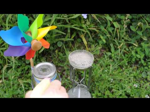 Jam Jar Pinwheel with Platinum Ignition