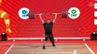 SIMON MARTIROSYAN World Records- 2018 World Weightlifting Championships🇦🇲