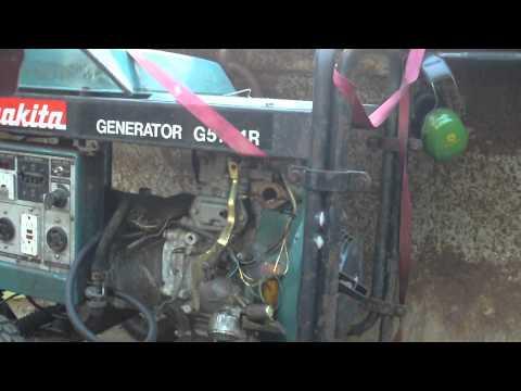Makita Generator Project Part 7 on