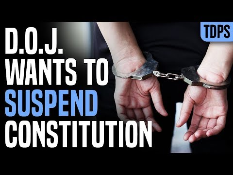 Trump Justice Dept Wants to Suspend Constitution During Emergency