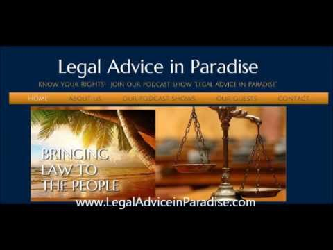 Legal Advice in Paradise Intro with Justine Gronwald