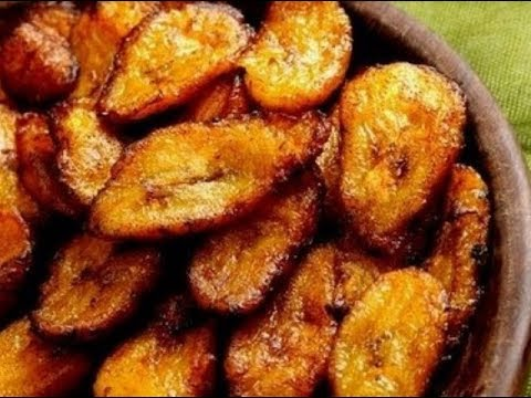FRIED PLANTAIN (DODO) WITH FRIED EGGS