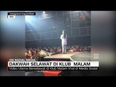 Viral Video Dakwah Salawat Di Klub Malam
