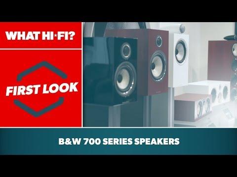 Bowers & Wilkins' new 700 Series speakers – first look