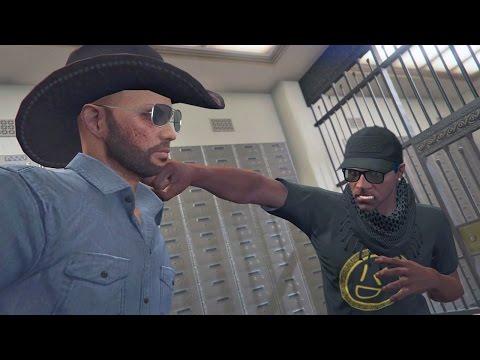 BANK BRAWL!   GTA 5 THUG LIFE #132