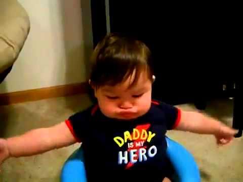 Hilarious Baby Making Fart Sound