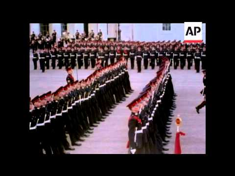 The Sovereign's Parade At Sandhurst  1962