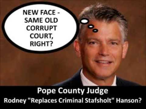Lion News: Judge Hanson's Staff Tries To Shield Him From Misuse of Public Funds Complaint?
