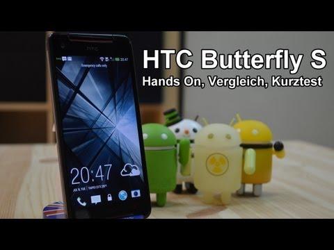 HTC Butterfly S Hands On und Walkthrough [Deutsch - German]