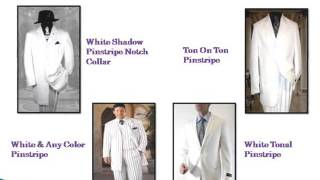 Exclusive Men's White Suits with a Clean Look
