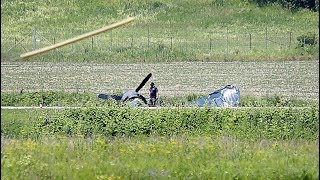 Pilot seriously hurt in emergency landing of vintage plane in Gatineau