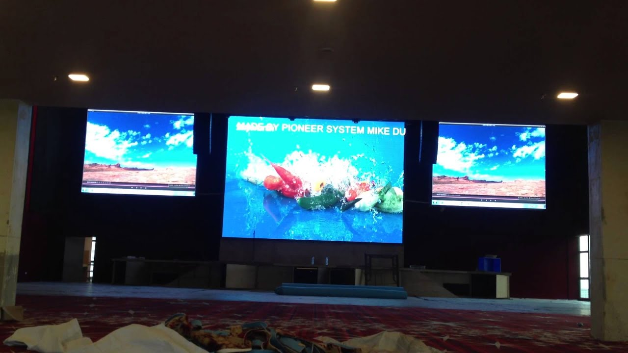 Large Electronic Display Boards - Year of Clean Water