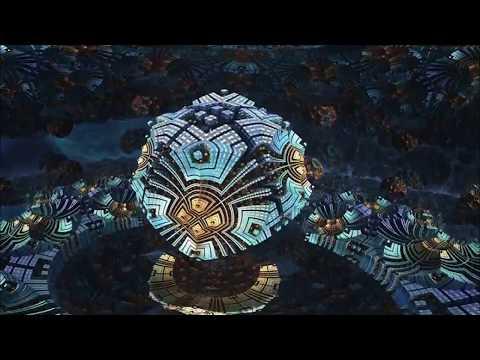 Погружение в матрицу - фрактал 360° 3D 4K High Bitrate TB видео для VR