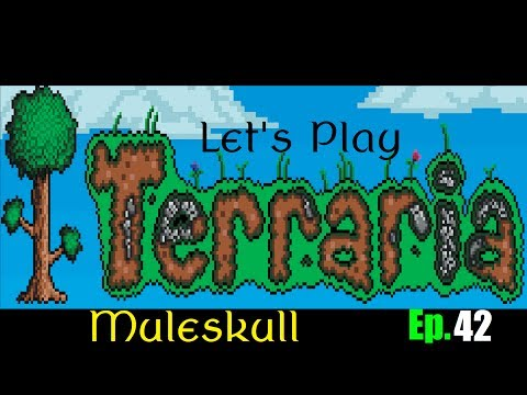 Let's Play Terraria 1.2 Ep. 42 - Pirates Defeated