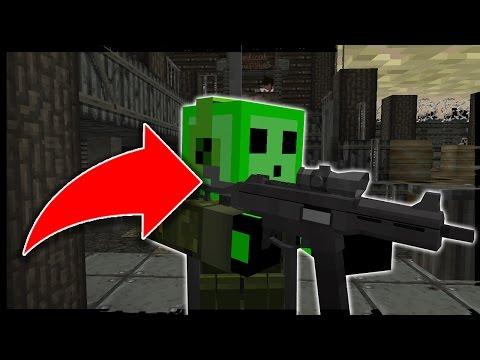 UNE BASE MILITAIRE REMPLI DE ZOMBIES?! - Minecraft MODDÉ #2