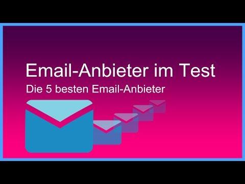 Die besten Email-Anbieter im Test