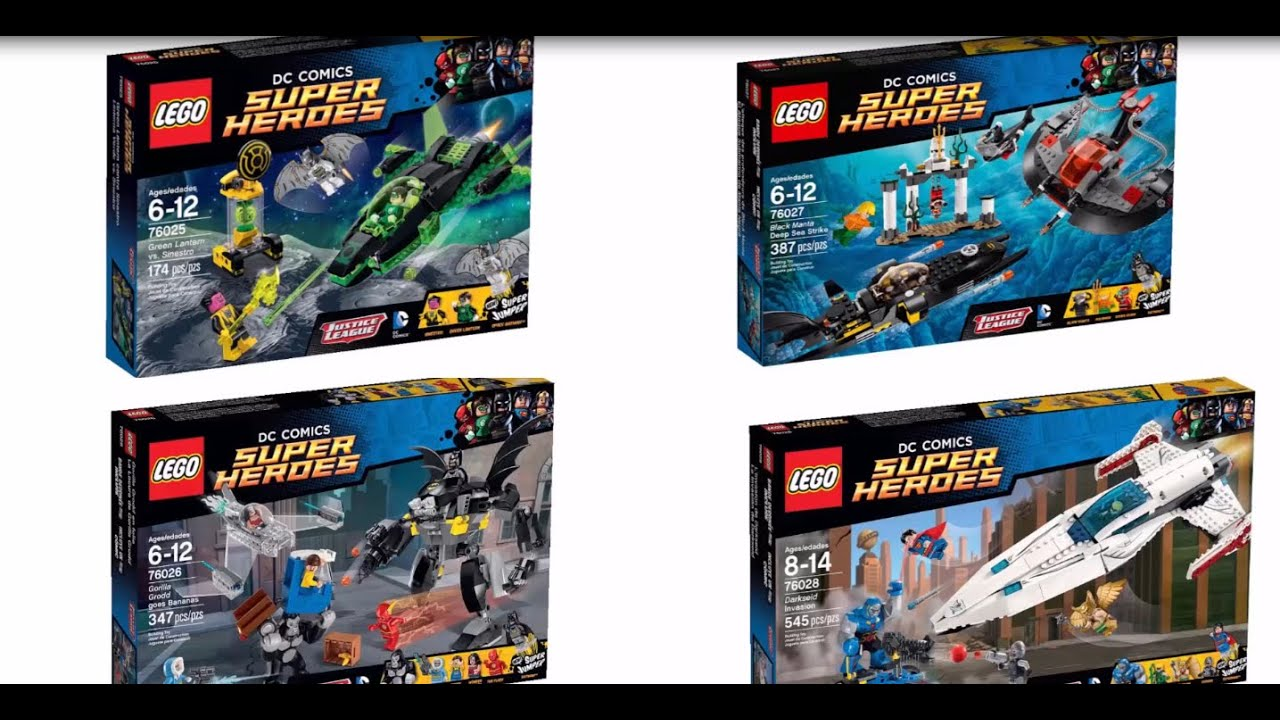 LEGO DC Superheroes 2015 Official Set Images! - YouTube