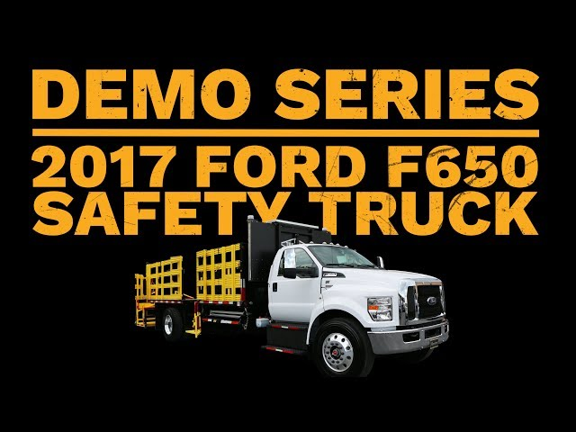 2017 Ford F650 Traffic Control Truck | Truck Demo | Royal Truck & Equipment