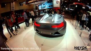 Toronto Autoshow 2012 BMW Concept Car