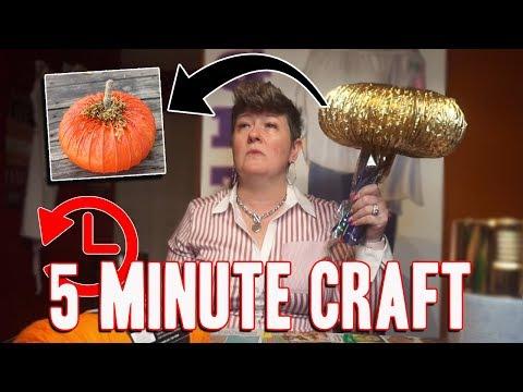 I Tried Following a 5-Minute Crafts Halloween Pumpkin Tutorial   MightyMom