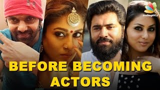 Kollywood Celebrities : Jobs before Acting | Anushka, Nani, Vishnu Vishal & MORE Actors!