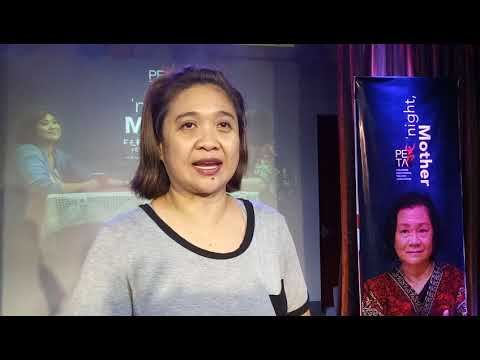 Eugene Domingo Invites You to Watch 'Night, Mother