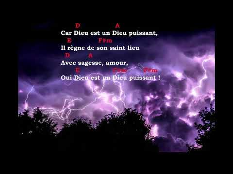 Car Dieu est un Dieu puissant -Nicolas Ternisien (paroles & accords)