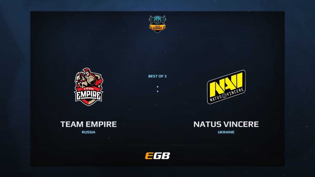 Team Empire vs Natus Vincere, Game 2, Dota Summit 7, EU Qualifier