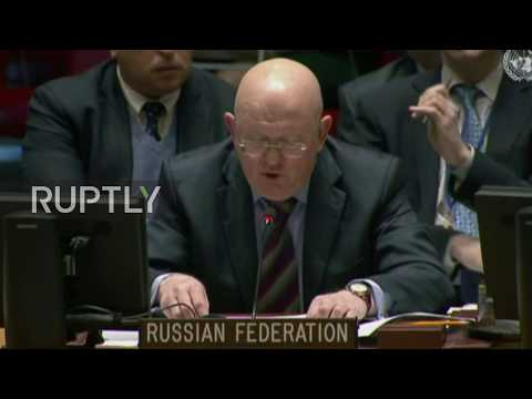 UN: Russia 'sole member' to advance Ghouta ceasefire - Russian envoy