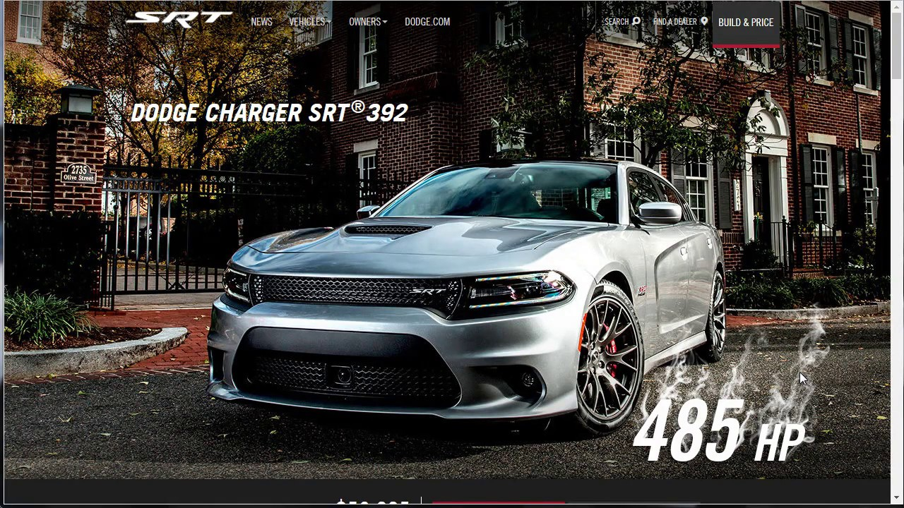 Build Your Own Dodge >> 2017 Dodge Charger Srt 392 Build Your Own Dodge Charger Price